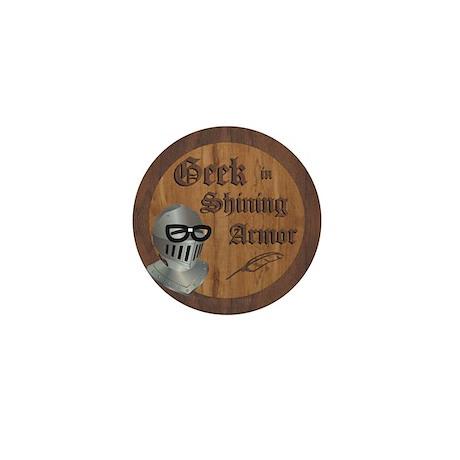 Geek Armor Mini Button (100 pack)