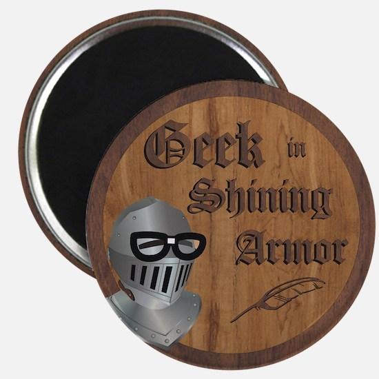 Geek Armor Magnet