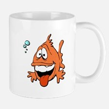 Silly Orange Fish Mug