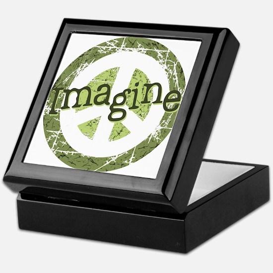 Imagine Peace Keepsake Box