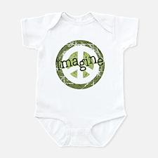 Imagine Peace Infant Bodysuit