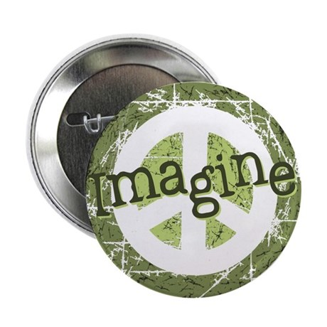 "Imagine Peace 2.25"" Button (100 pack)"