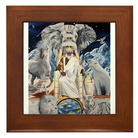 "NEW!!!! ""THE ORISHA SERIES"" O Framed Tile"