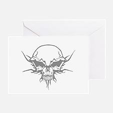 Skull Tattoo 6 Greeting Card