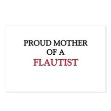 Proud Mother Of A FLAUTIST Postcards (Package of 8