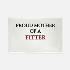 Proud Mother Of A FITTER Rectangle Magnet