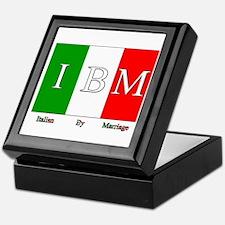Italian By Marriage Keepsake Box