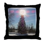 Christmas Peace Throw Pillow