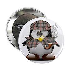 "Shelock Penguin 2.25"" Button"