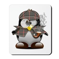 Shelock Penguin Mousepad