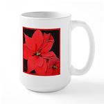 Poinsettia Large Mug