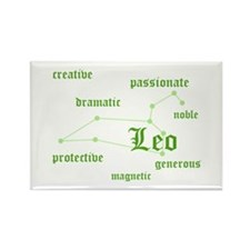 Leo Rectangle Magnet
