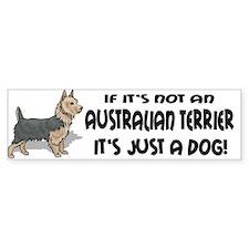 Australian Terrier Bumper Bumper Sticker