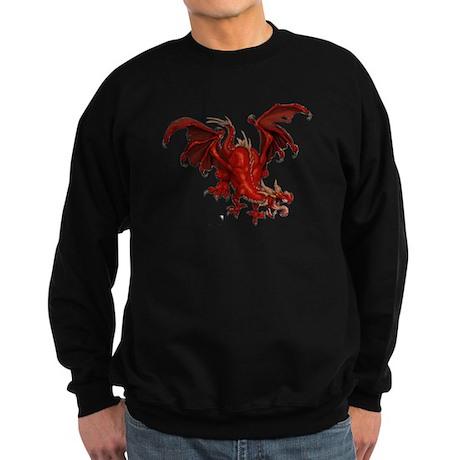 Red Dragon Sweatshirt (dark)