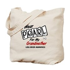 I Wear Pearl For My Grandmother 8 Tote Bag