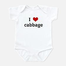 I Love cabbage Infant Bodysuit
