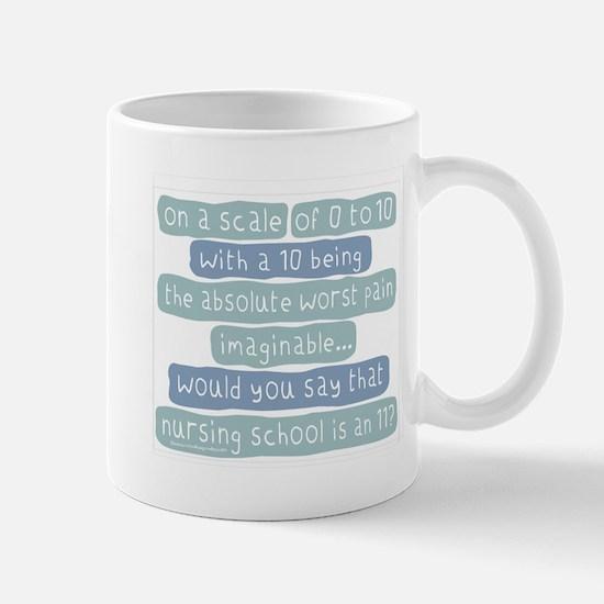 Nursing School Pain Scale Mug