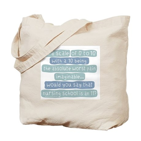 Nursing School Pain Scale Tote Bag