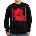 Poinsettia Sweatshirt (dark)