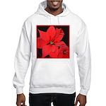 Poinsettia Hooded Sweatshirt
