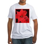 Poinsettia Fitted T-Shirt