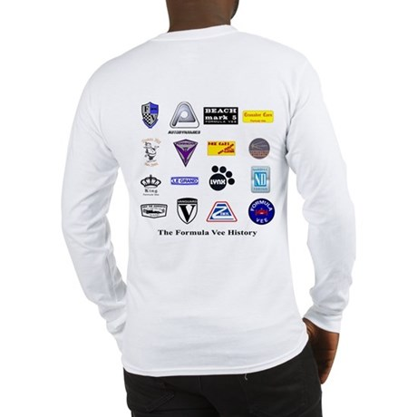 Formula Vee History Long Sleeve T-Shirt