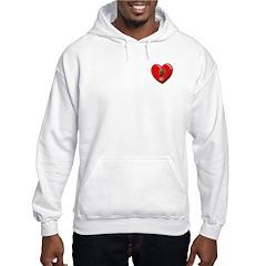 Morel Heart Hoodie