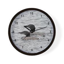 Wall Clock - Loons