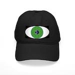 Eye Ball Hat Black Cap