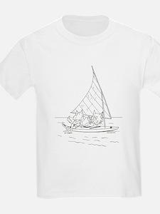 Sailboat Cats T-Shirt