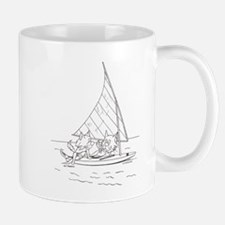 Sailboat Cats Mug