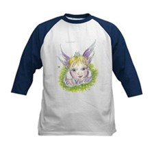 Kids Cute faery Wings Baseball Jersey