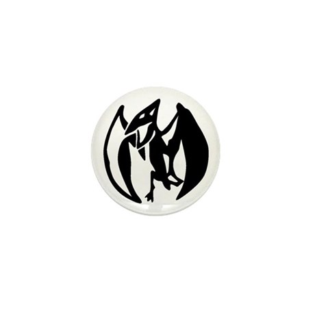 Pterodactyl Mini Button (10 pack)