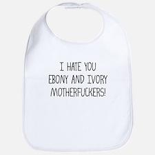Ebony & Ivory Bib