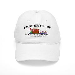 Property of Santa's Workshop Baseball Cap
