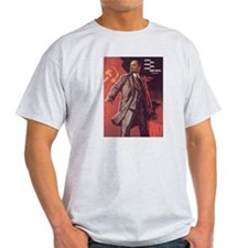 Lenin will be forever CCCP Ash Grey T-Shirt