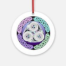 Triple Sprial Ornament (Round)