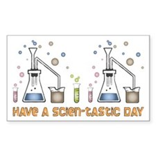 Scien-tastic Day Science Rectangle Decal