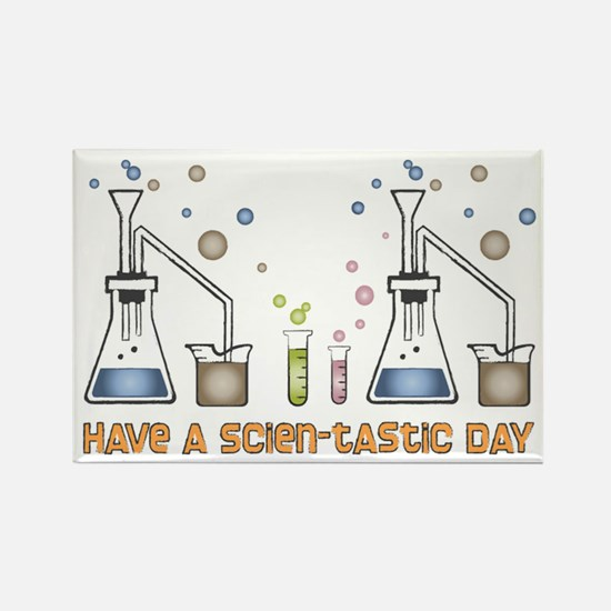 Scien-tastic Day Science Rectangle Magnet