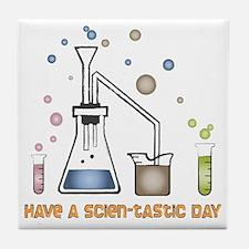 Scien-tastic Day Science Tile Coaster