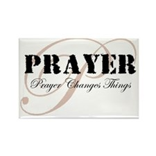 Prayer Rectangle Magnet