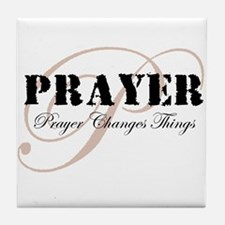 Prayer Tile Coaster