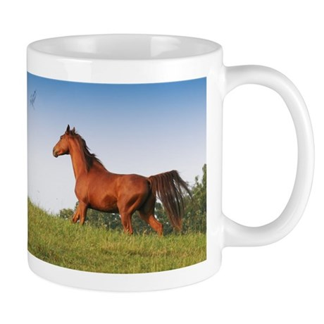 Mug with Sorrell Running Horse