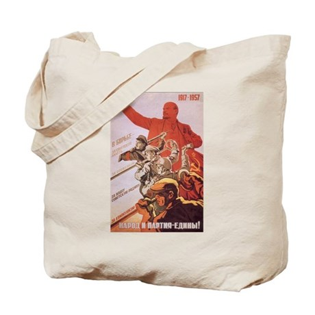 CCCP 1917-1957 Lenin Tote Bag