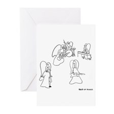 Band of Angels Greeting Cards (Pk of 10)