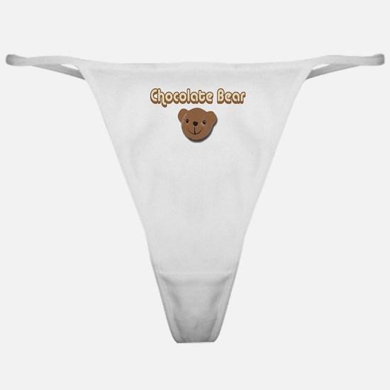 Chocolate Bear Classic Thong