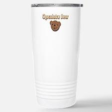 Chocolate Bear Travel Mug