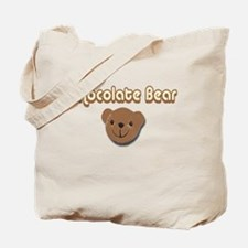 Chocolate Bear Tote Bag