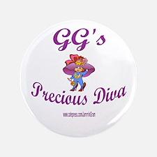 "GG'S DIVA 3.5"" Button"