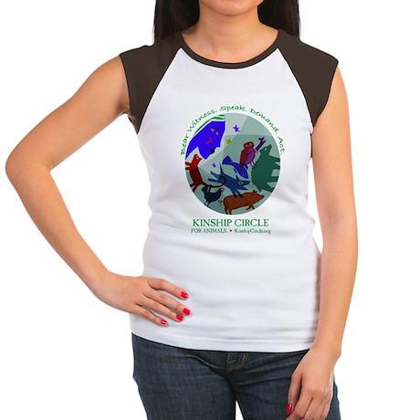 Kinship Circle Women's Cap Sleeve T-Shirt
